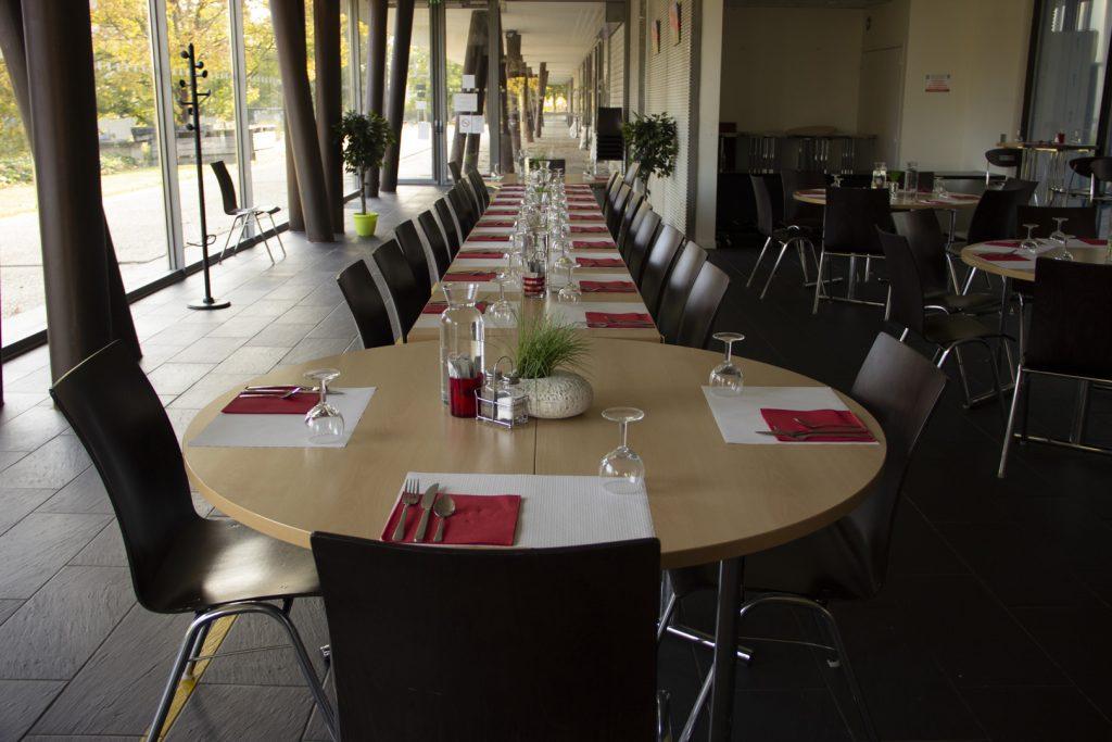 L'assiette de Léo - Salle de restauration.