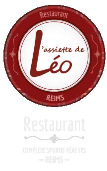 Logotype L'assiette de Léo